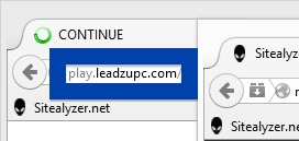 Screenshot of play.leadzupc.com