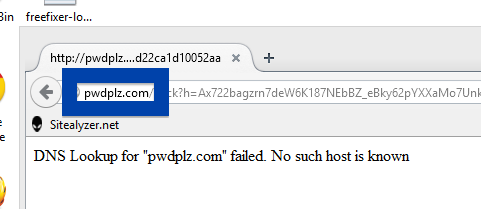 Screenshot of pwdplz.com
