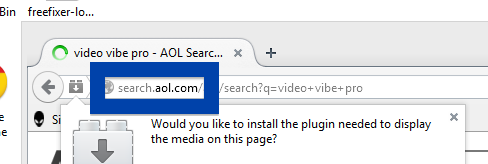 Screenshot of search.aol.com