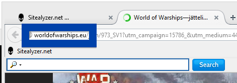 Screenshot of worldofwarships.eu